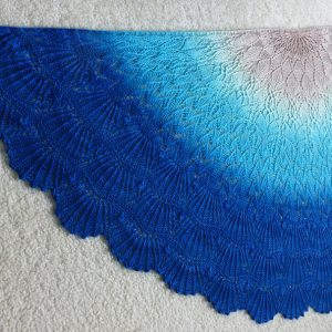 A Mermaid's Tale shawl.