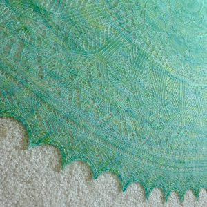 Tropical Breeze shawl.