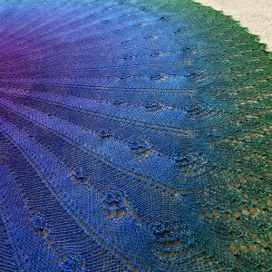 Bird Song shawl.