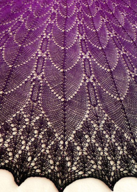 Bewitched shawl.