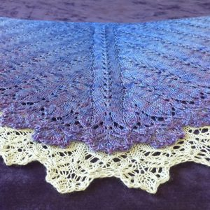 Sugar Plum Fairies shawl.