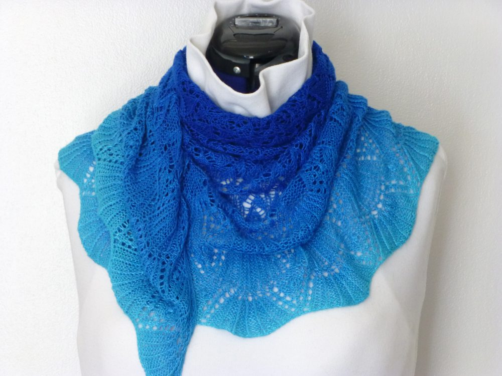 Monterey by the Sea shawl.