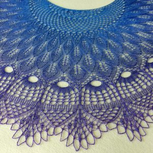 Amalfi Nights shawl.