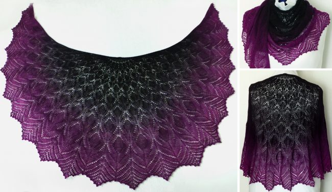 Taste of Forbidden Fruit Shawl
