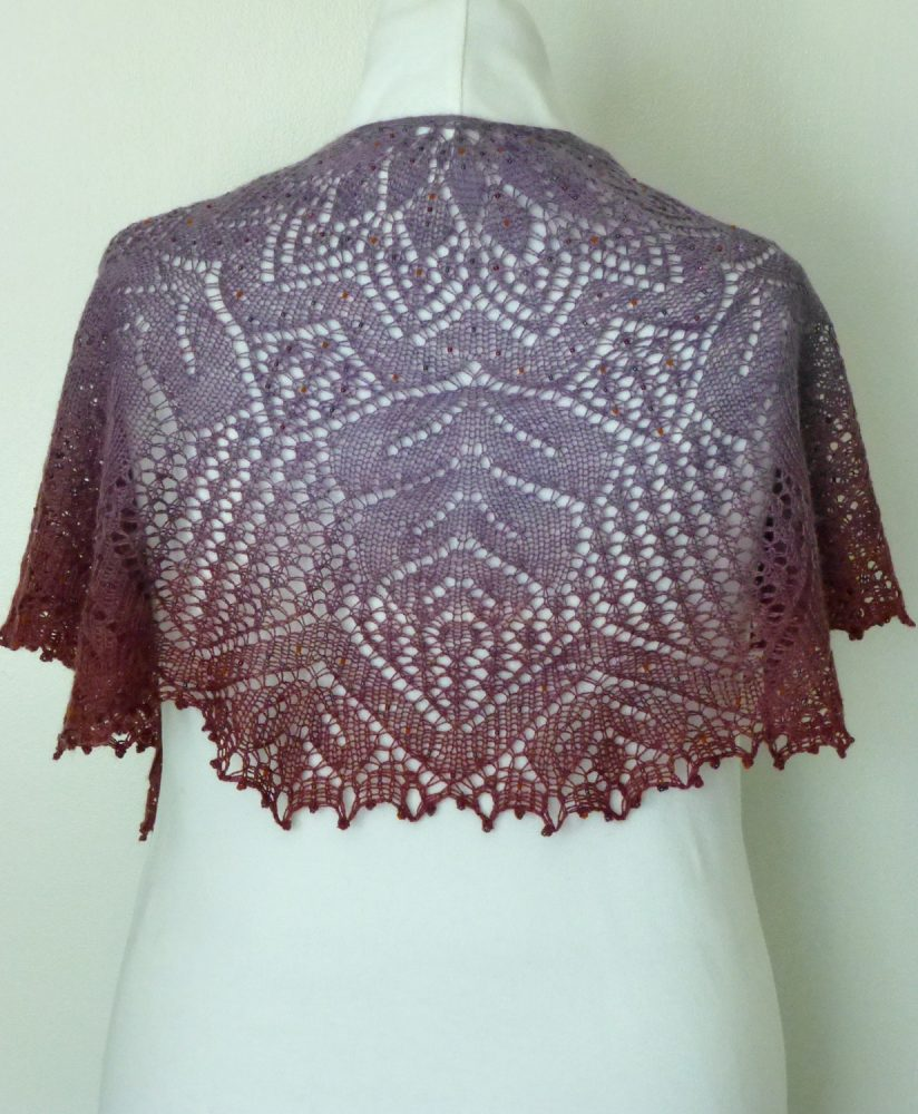 Harvest Maiden shawl.