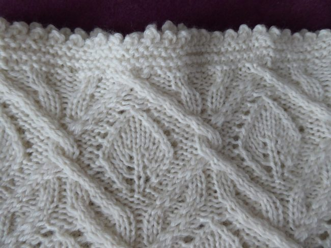 Frosted Leaves cowl.