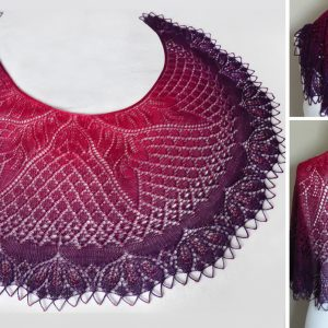 The Sorcerer's Apprentice Shawl.