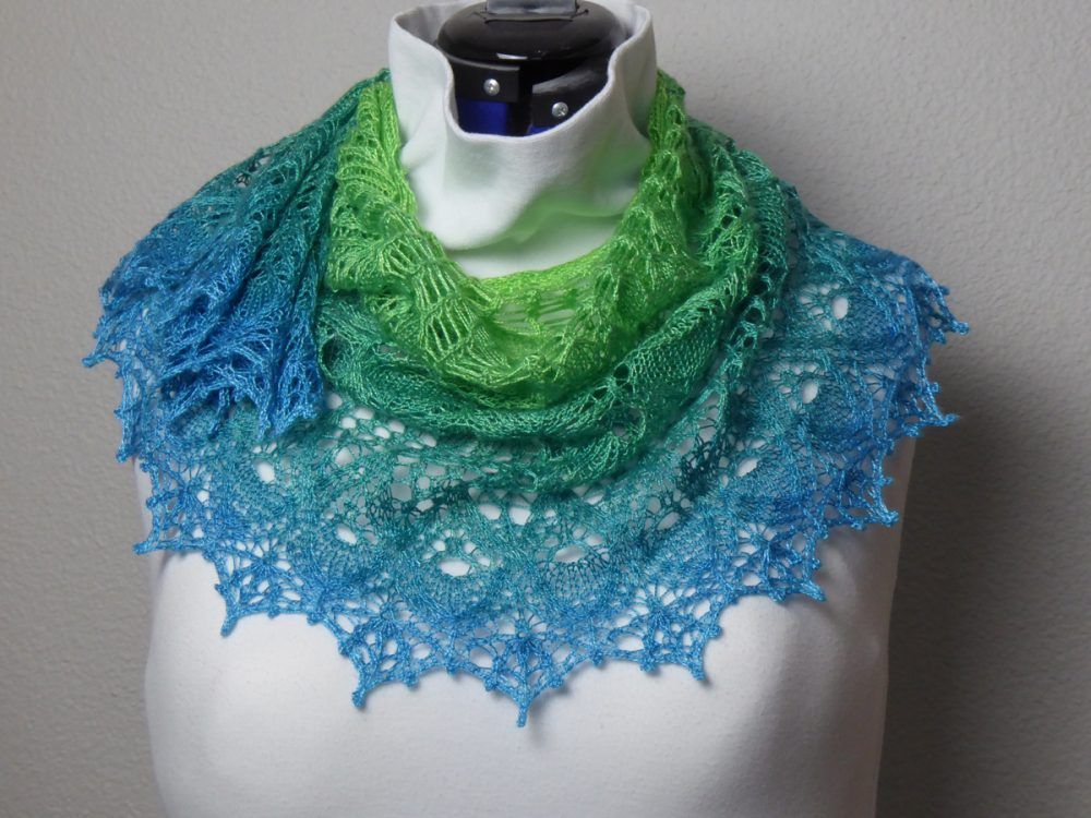 Dragonfly Magic Shawl.